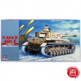 Pz Kpfw IV AUSF G GERMAN ARMY BATTLE TANK HASEGAWA 31143