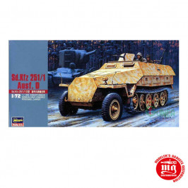 Sd Kfz 251/1 AUSF D GERMAN ARMY ARMORED PERSONNEL CARRIER HASEGAWA 31144