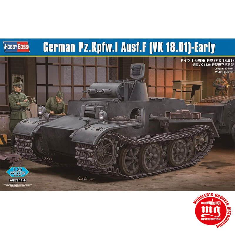 GERMAN Pz.Kpfw.I AUSF.F VK 18.01 EARLY HOBBYBOSS 83804