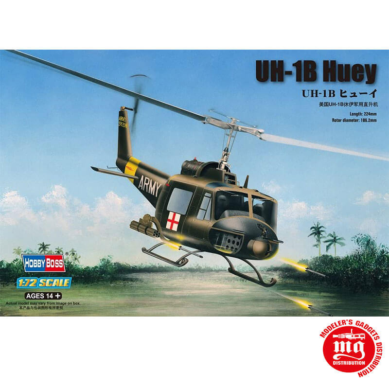 UH-1B HUEY HOBBYBOSS 87228