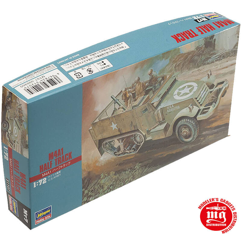 M4A1 HALF TRACK US ARMY HASEGAWA 31107 ESCALA 1/72