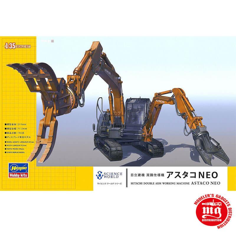 HITACHI ASTACO NEO DOUBLE ARM WORKING MACHINE HASEGAWA 54004