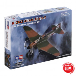 IL 2M3 ATTACK AIRCRAFT EASY ASSEMBLY AUTHENTIC KIT HOBBYBOSS 80285
