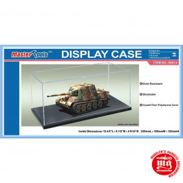 DISPLAY CASE VITRINE 325mm x 165mm x 125mm MASTER TOOLS 09814
