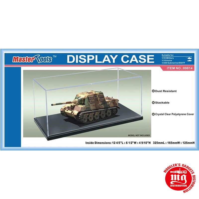 DISPLAY CASE VITRINE 325mm x 165mm x 125mm MASTER TOOLS 09814