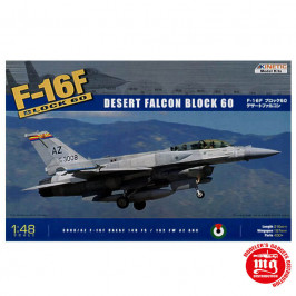 F-16F BLOCK 60 DESERT FALCON BLOCK 60 KINETIC K48008