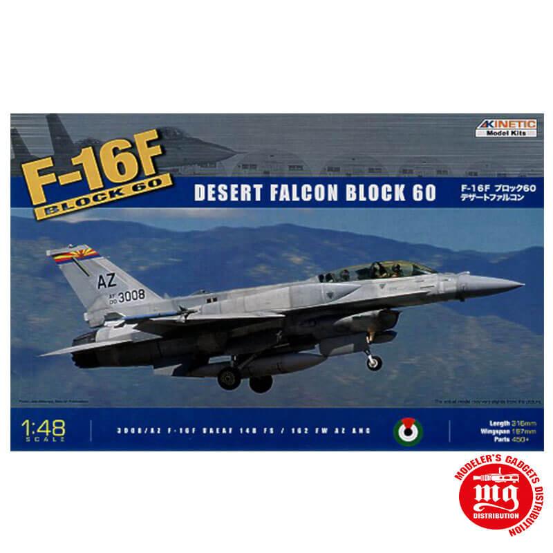 F-16F BLOCK 60 DESERT FALCON BLOCK 60 KINETIC K48008