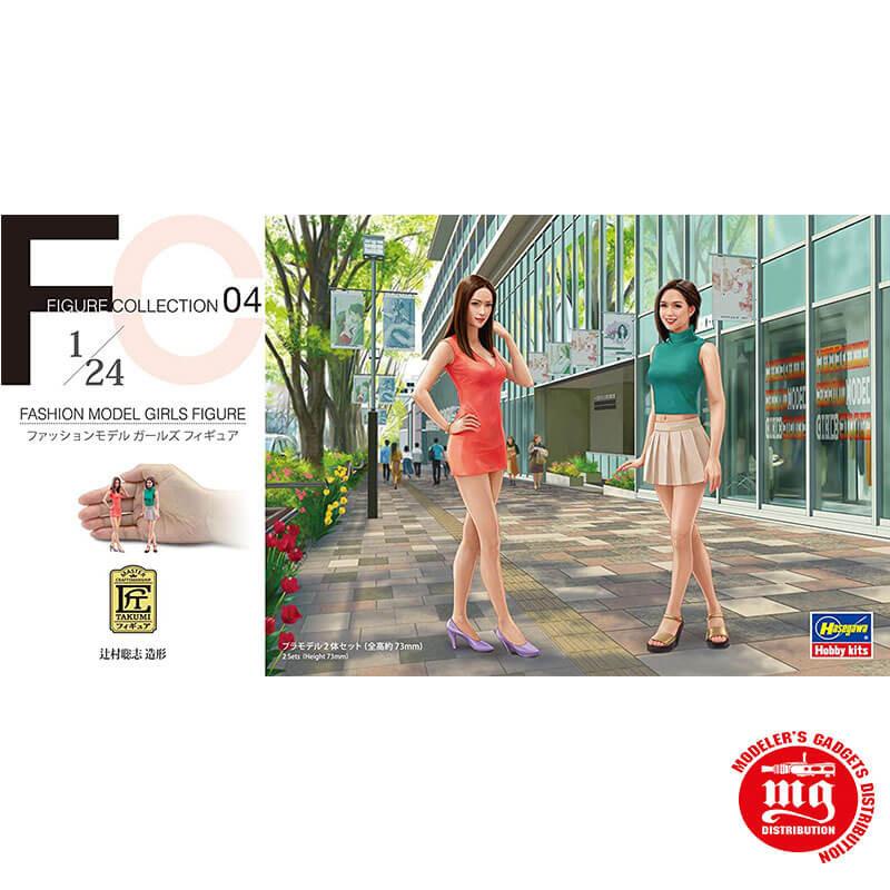 FASHION MODEL GIRLS FIGURE HASEGAWA 29104