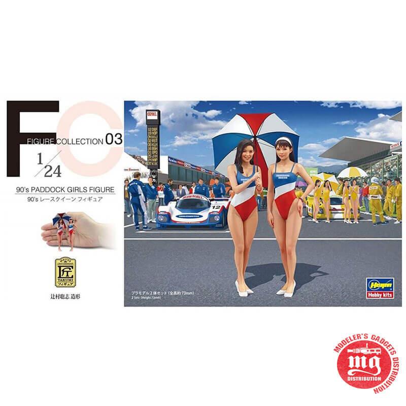 90´s PADDOCK GIRLS FIGURE HASEGAWA 29103