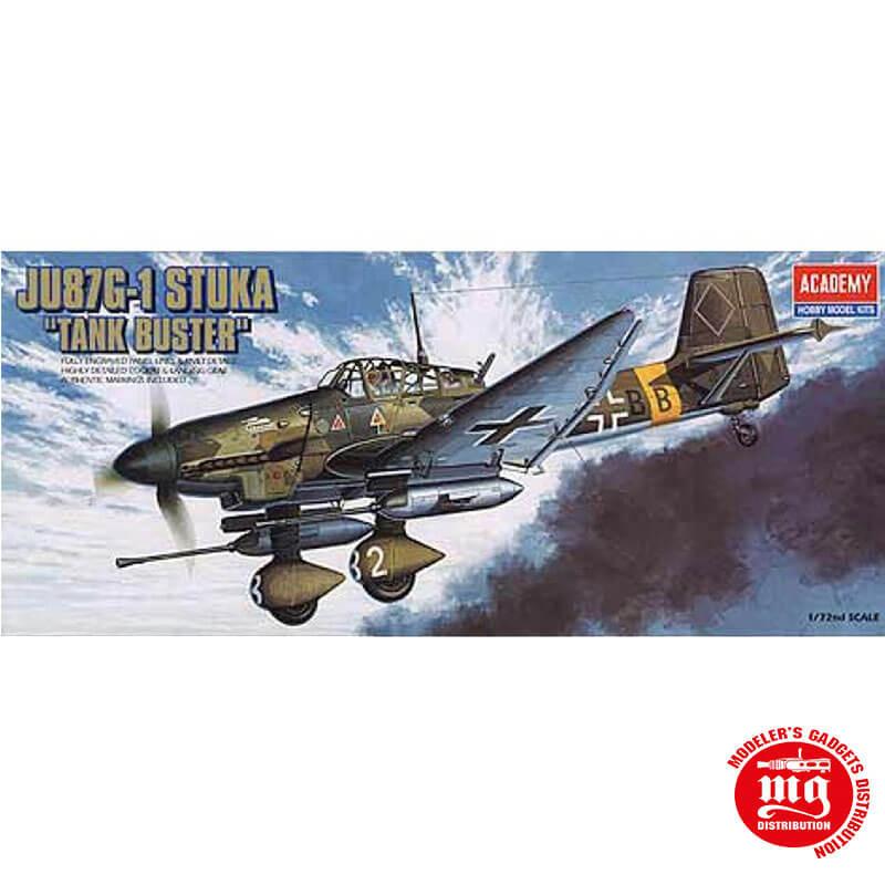 JUNKERS Ju87G-1 STUKA TANK BUSTER ACADEMY 12450