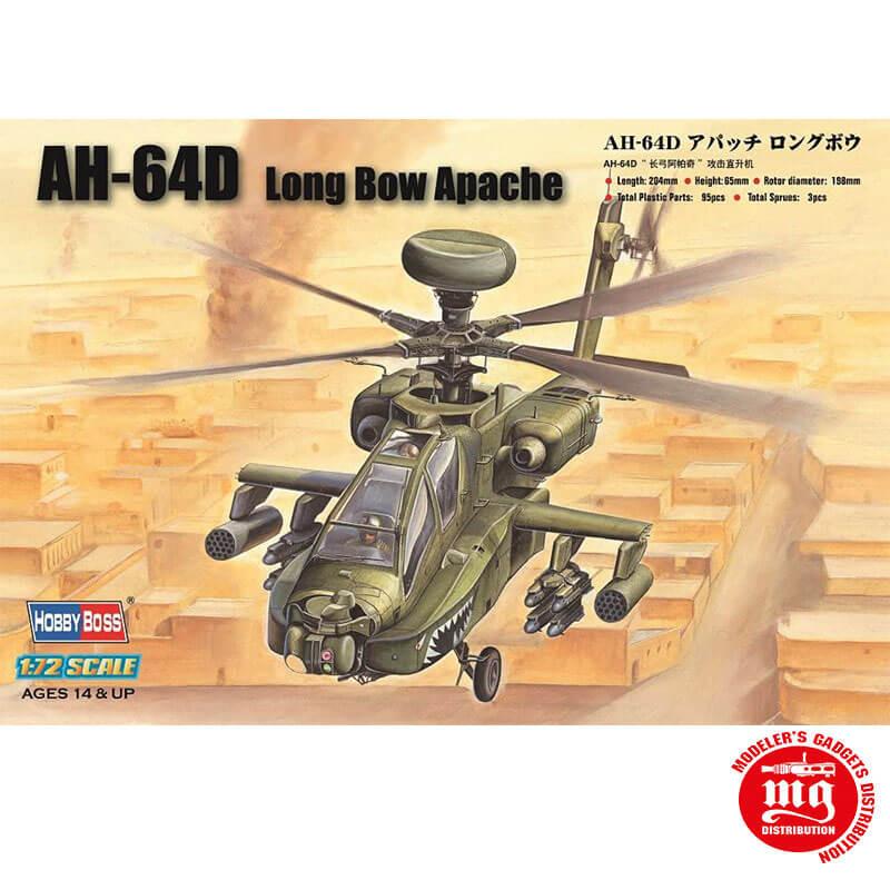 AH-64D LONG BOW APACHE HOBBYBOSS 87219