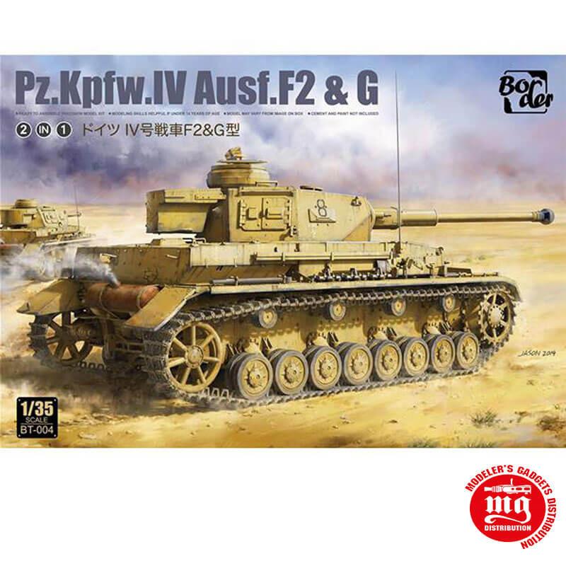 Pz.Kpfw.IV Ausf. F2 AND G BORDER BT-004