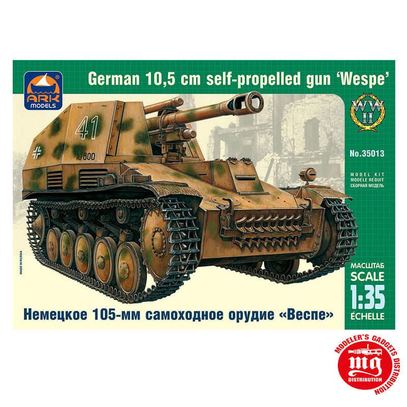 GERMAN 10.5 cm SELF PROPELLED GUN WESPE ARK 35013