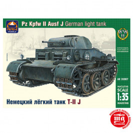 Pz Kpfw II Ausf J GERMAN LIGHT TANK ARK 35007