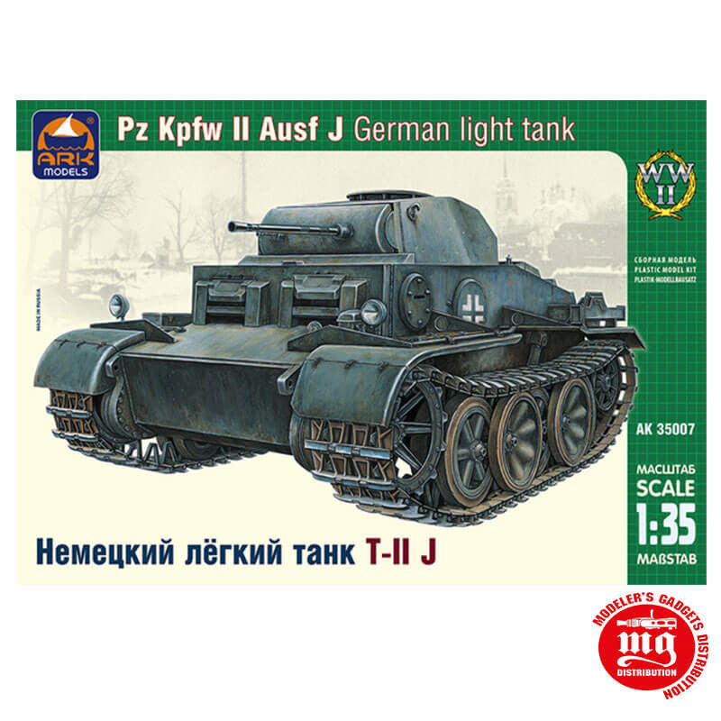 Pz Kpfw II Ausf J GERMAN LIGHT TANK ARK 35007