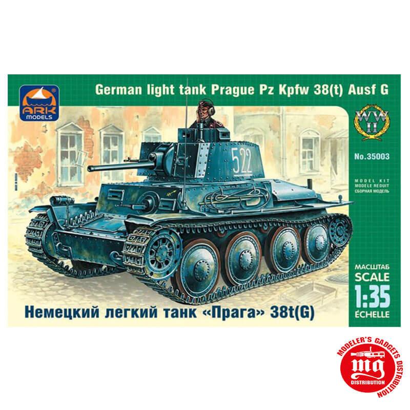 GERMAN LIGHT TANK PRAGUE Pz Kpfw 38t Ausf G ARK 35003