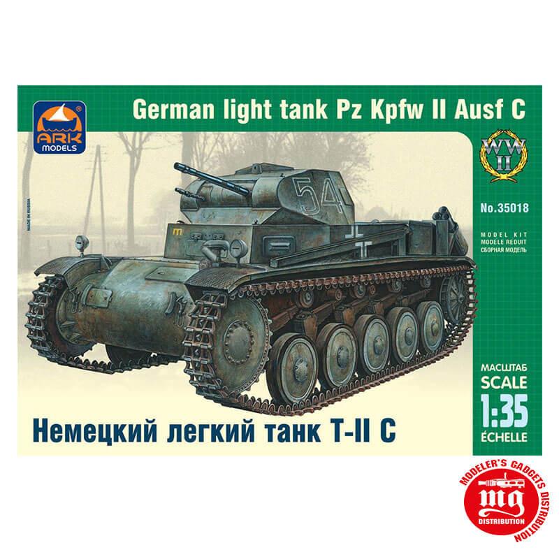 GERMAN LIGHT TANK Pz Kpfw Ausf C ARK 35018