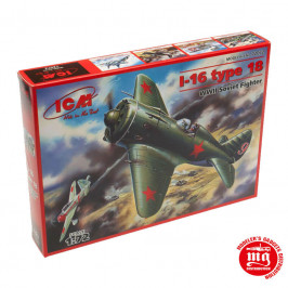 I-16 TYPE 18 WWII SOVIET FIGHTER ICM 72072