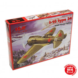 I-16 TYPE 24 WWII SOVIET FIGHTER ICM 72071