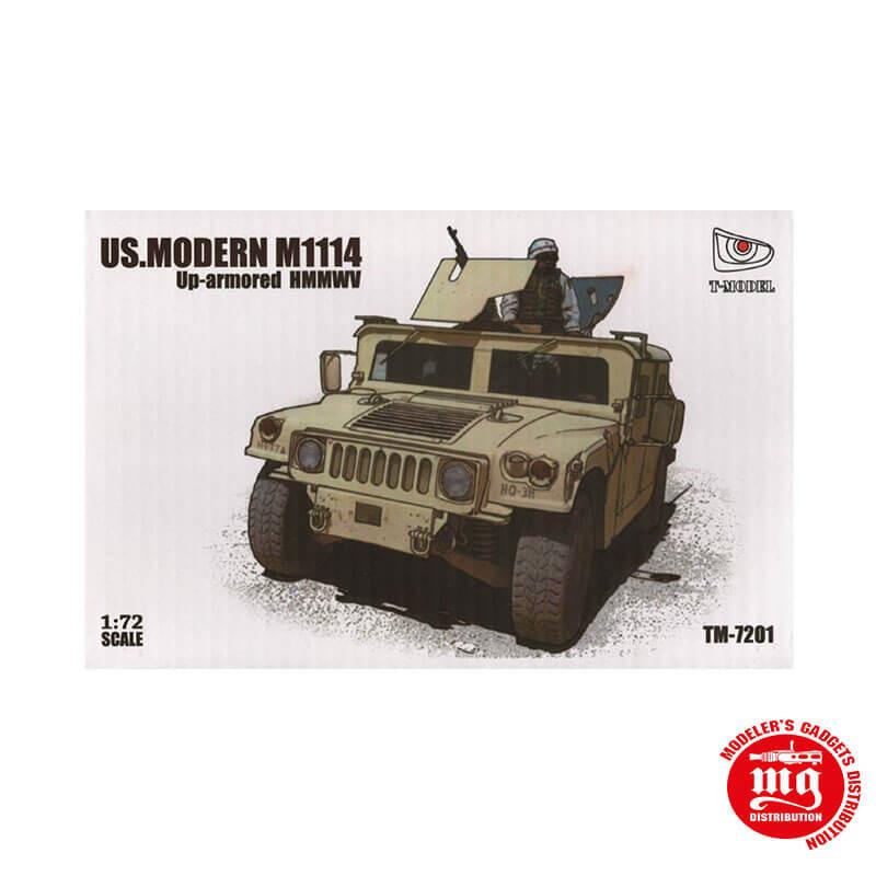 US MODERN M1114 UP ARMORED HMMWV T-MODEL TM-7201