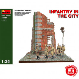INFANTRY IN THE CITY MINIART 36014
