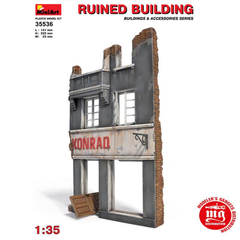 RUINED BUILDING MINIART 35536