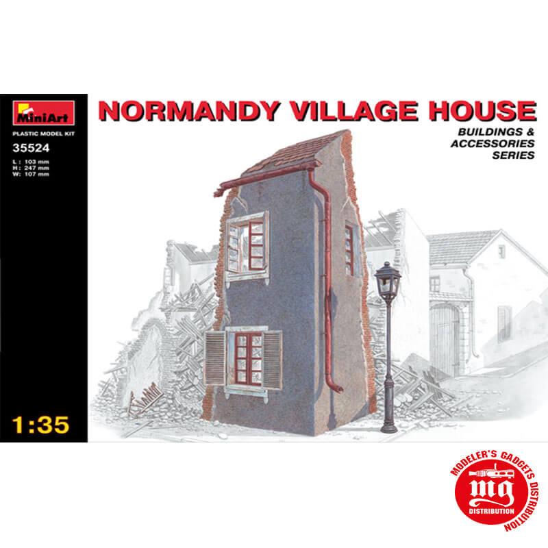 NORMANDY VILLAGE HOUSE MINIART 35524