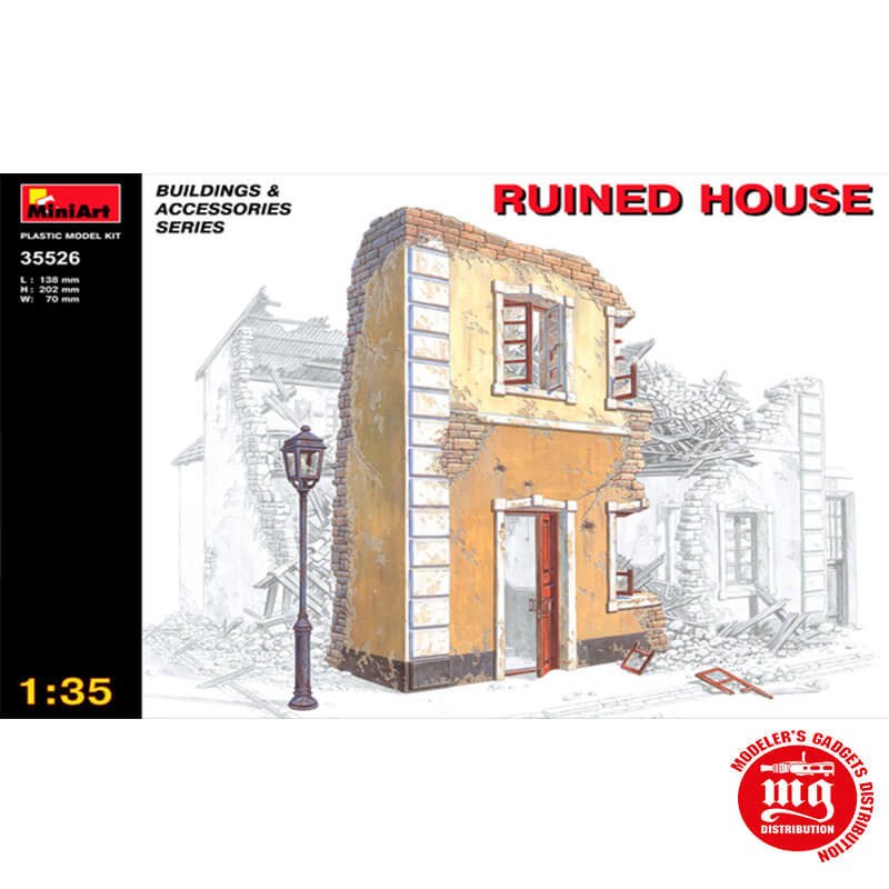RUINED HOUSE MINIART 35526