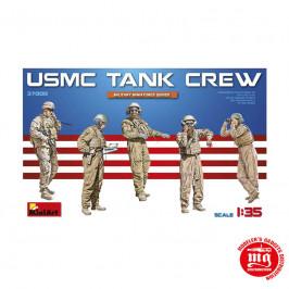 USMC TANK CREW MINIART 37008