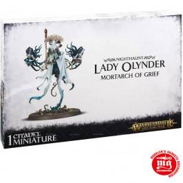 NIGHTHAUNT LADY OLYNDER MORTARCH OF GRIEF GAMES WORKSHOP 91-25