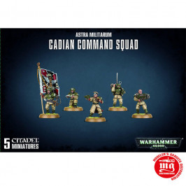 ASTRA MILITARUM CADIAN COMMAND SQUAD GAMES WORKSHOP 47-09