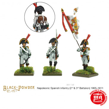 SPANISH INFANTRY SECOND AND THIRD BATTALLIONS 1805-1811 WARLORD 302411502