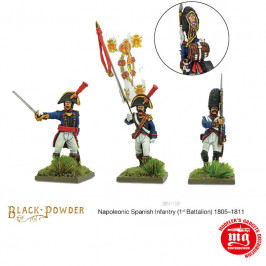 SPANISH INFANTRY FIRST BATTALION 1805-1811 WARLORD 302411501