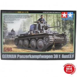 GERMAN PANZERKAMPFWAGEN 38t AUSF.E/F TAMIYA 32583 ESCALA 1:48