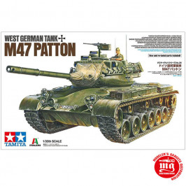 WEST GERMAN TANK M47 PATTON TAMIYA 37028