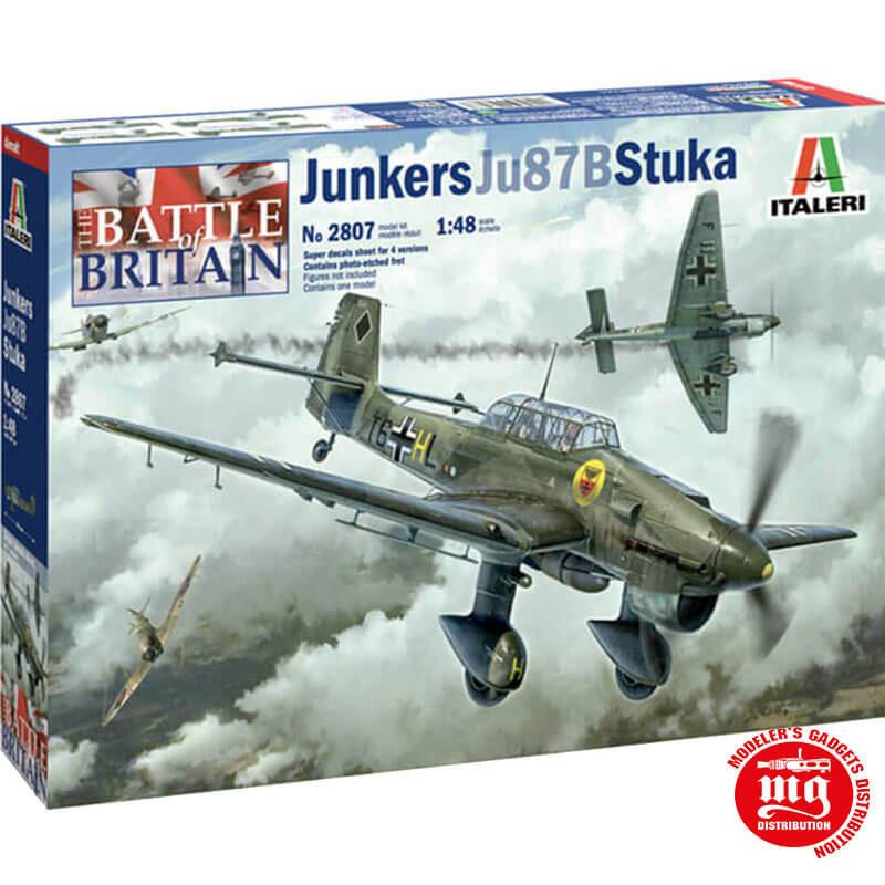 JUNKERS Ju87B STUKA BATTLE OF BRITAIN 80th ANNIVERSARY ITALERI 2807