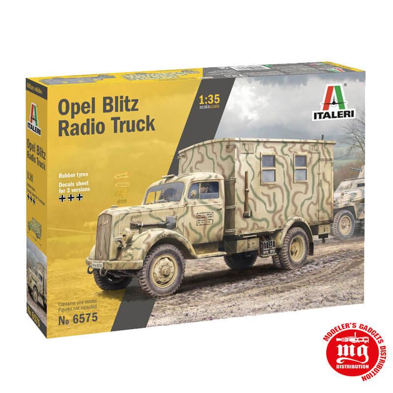 OPEL BLITZ RADIO TRUCK ITALERI 6575
