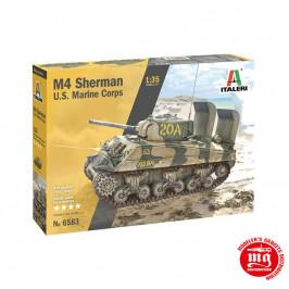 M4 SHERMAN US MARINE CORPS ITALERI 6583
