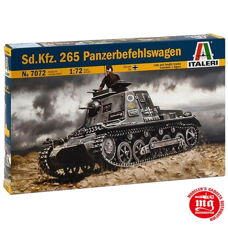 Sd. Kfz. 265 PANZERBEFEHLSWAGEN ITALERI 7072