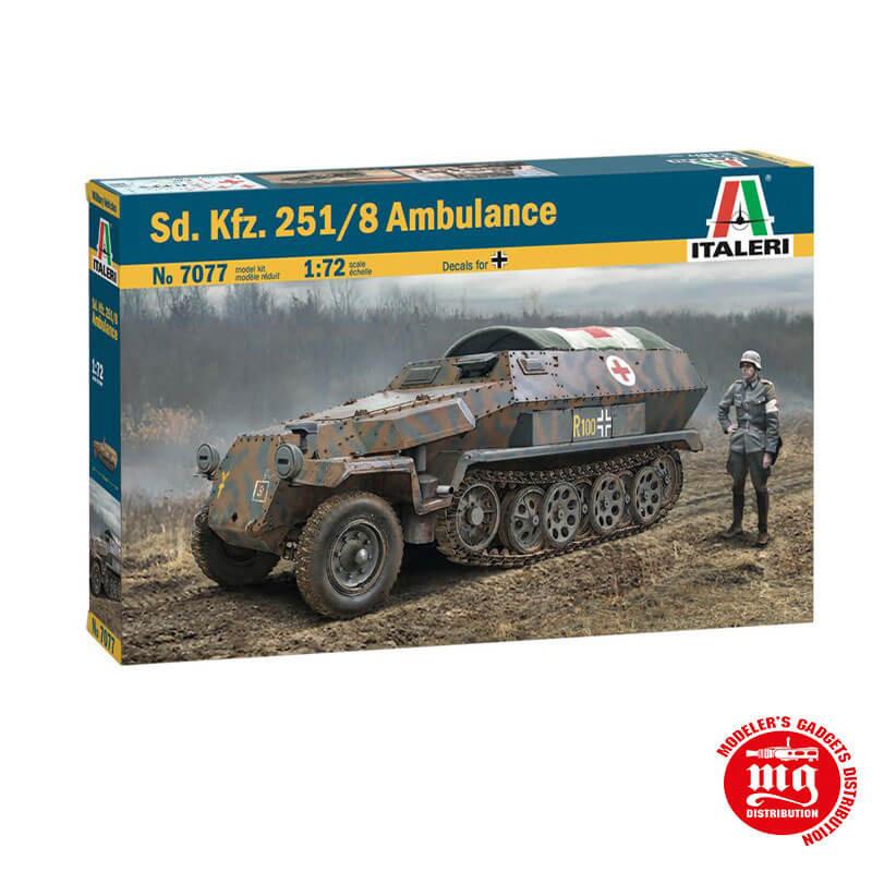 Sd. Kfz. 251/8 AUSF.C AMBULANCE ITALERI 7077