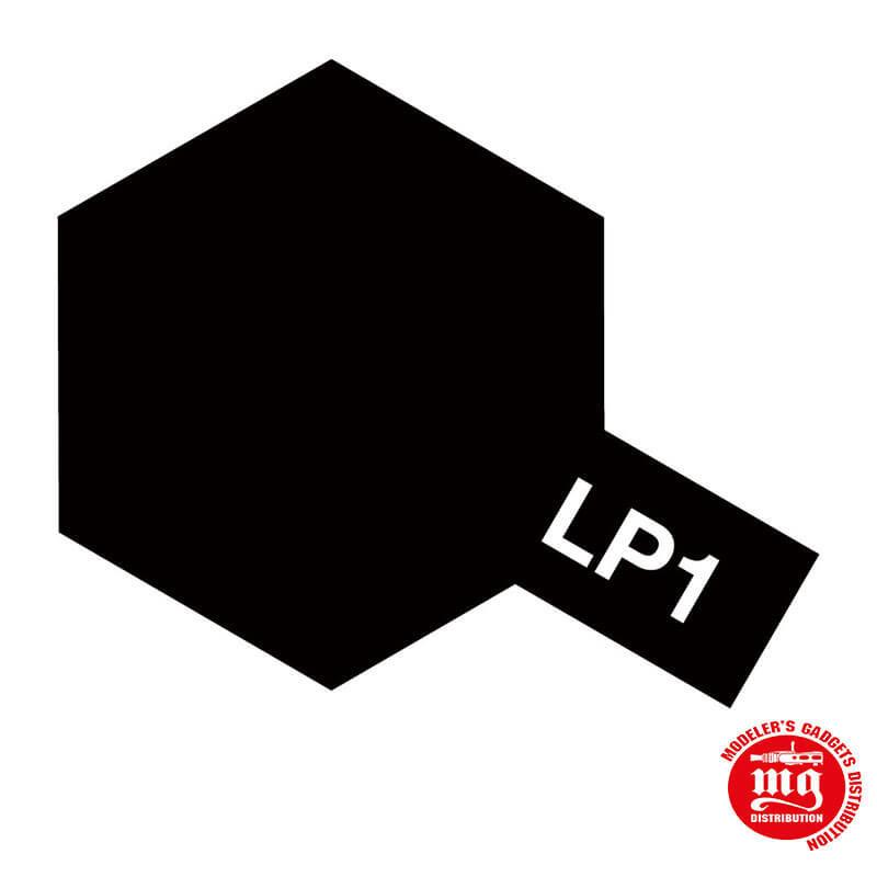 PINTURA LACA TAMIYA LP-1 BLACK
