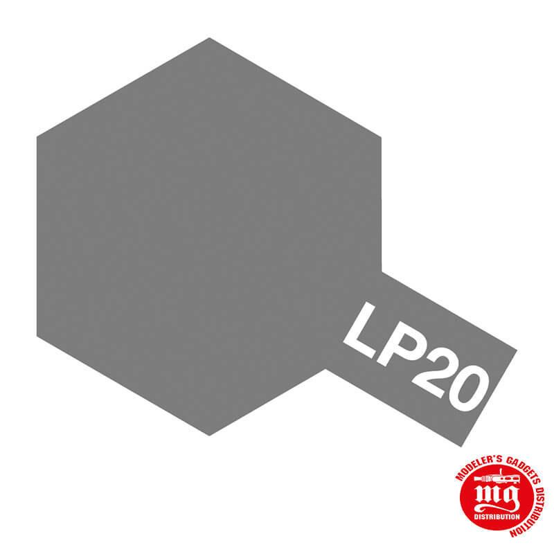 PINTURA LACA TAMIYA LP-20 LIGHT GUN METAL