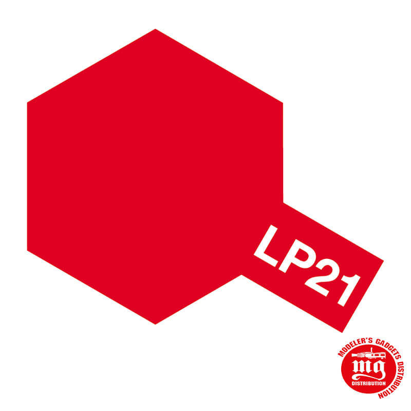 PINTURA LACA TAMIYA LP-21 ITALIAN RED