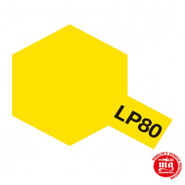 PINTURA LACA TAMIYA LP-80 FLAT YELLOW