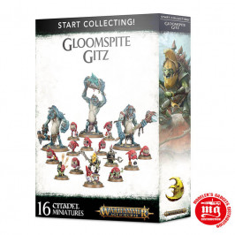 START COLLECTING GLOOMSPITE GITZ GAMES WORKSHOP 99 12 02 09 056