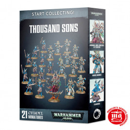 START COLLECTING THOUSAND SONS GAMES WORKSHOP 99 12 01 02 095