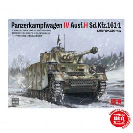 PANZERKAMPFWAGEN IV AUSF.H Sd. Kfz.161/1 EARLY PRODUCTION RFM 5046