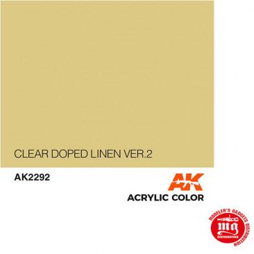 CLEAR DOPED LINEN VERSION 2 AK2292