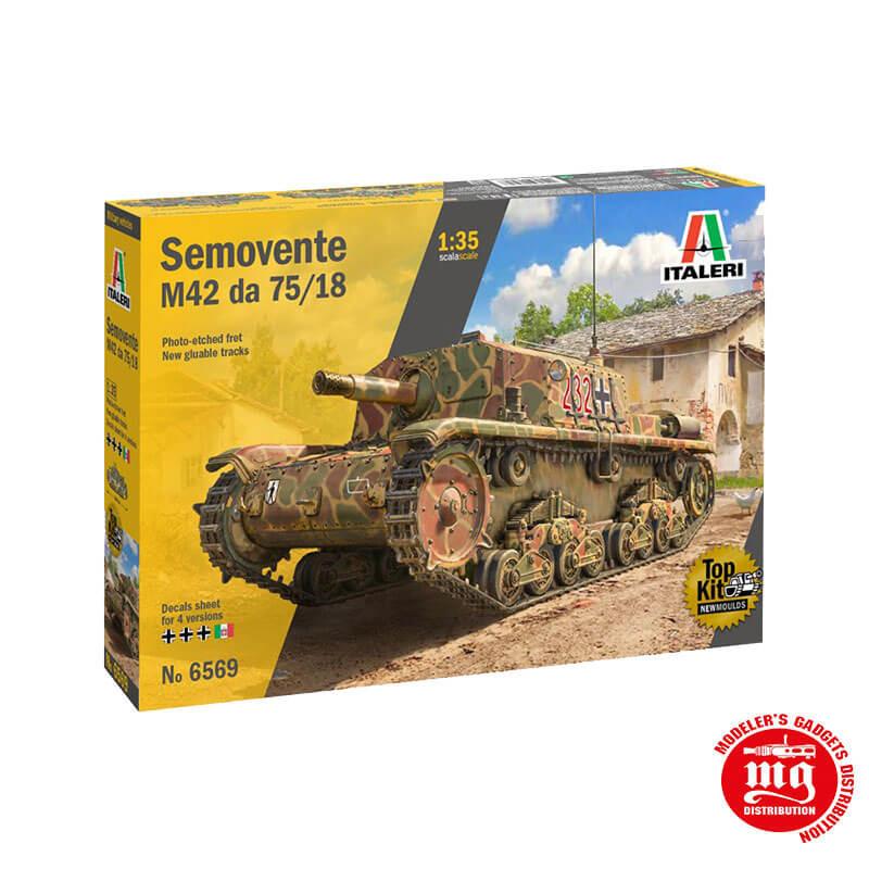 SEMOVENTE M42 da 75/18 ITALERI 6569