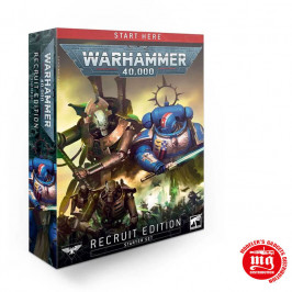 WARHAMMER 40000 RECRUIT EDITION STARTER SET WARHAMMER 40000 40-04